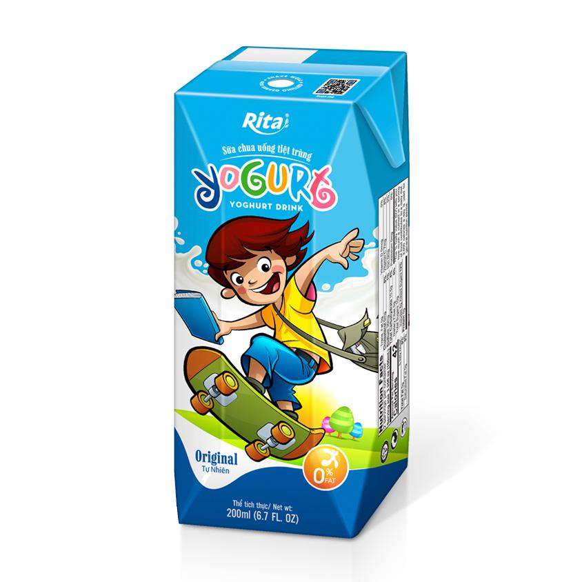 Yogurt drink 200 ml Box Paper