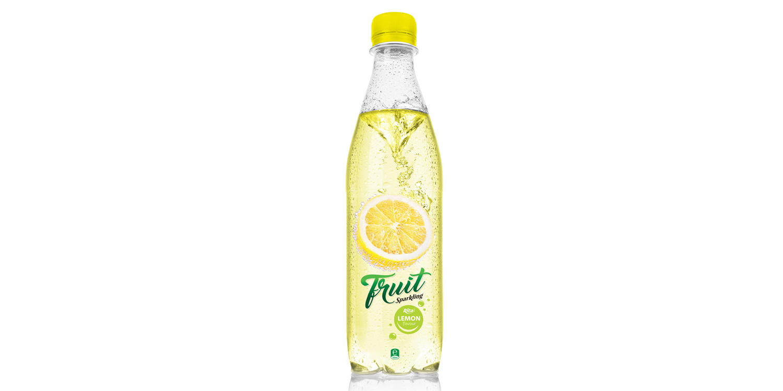 500ml Pet bottle Sparking lemon juice