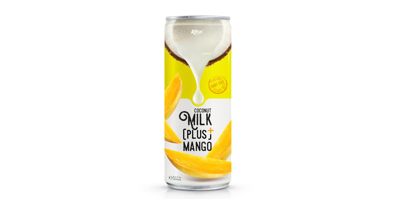 Coconut Milk Plus real fruit juice 250ml
