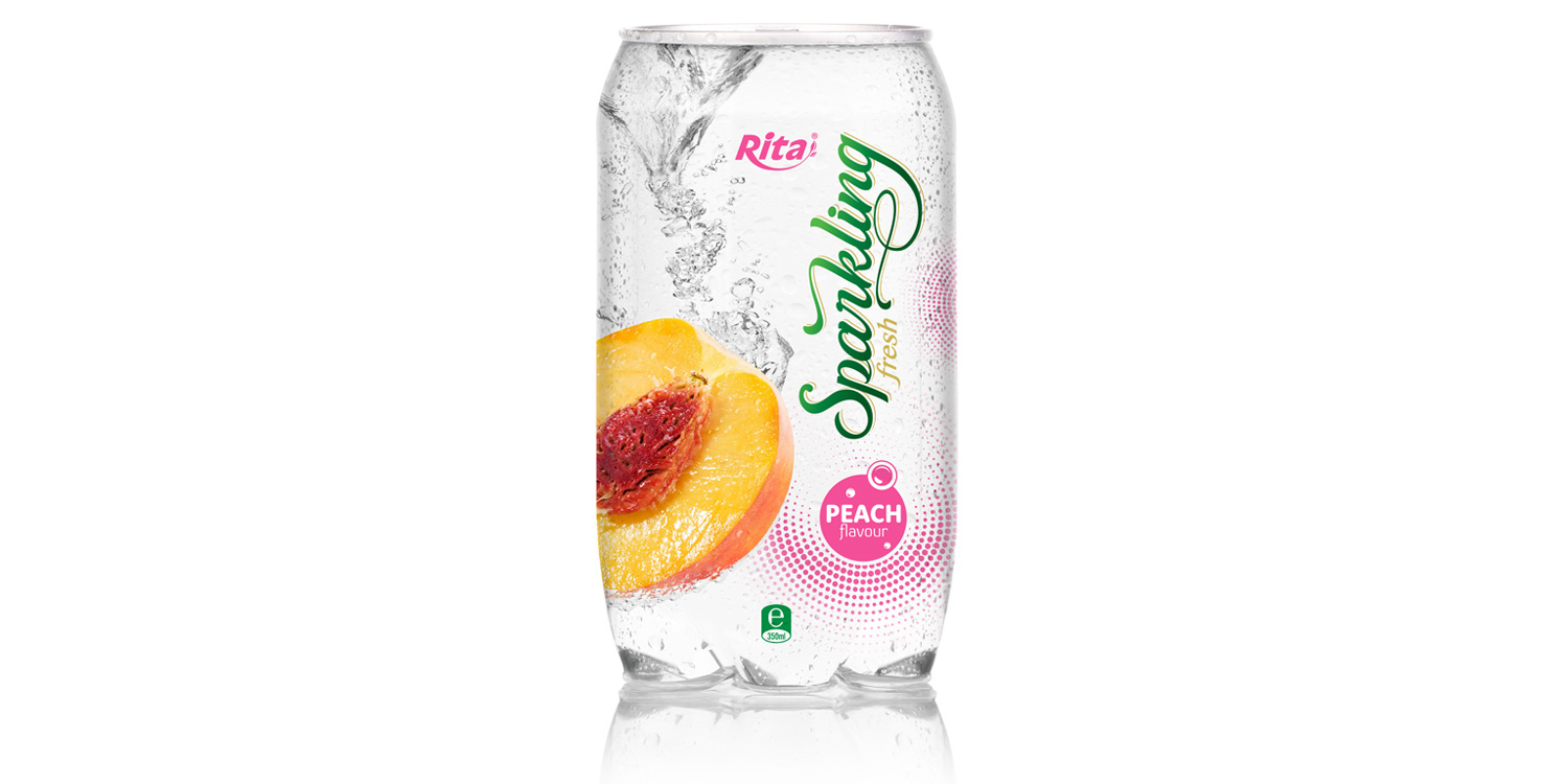Sparkling fruit pet 350ml