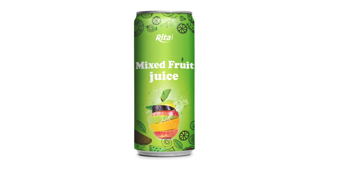 private label 250ml Mixed fruit juice drink