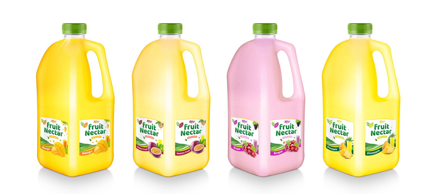Fruit Nectar 2L with pinapple flavor
