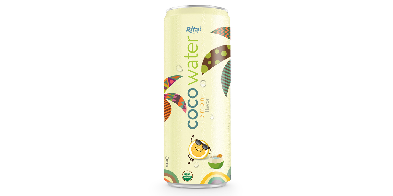 Coconut water wholesale price with lemon 320ml