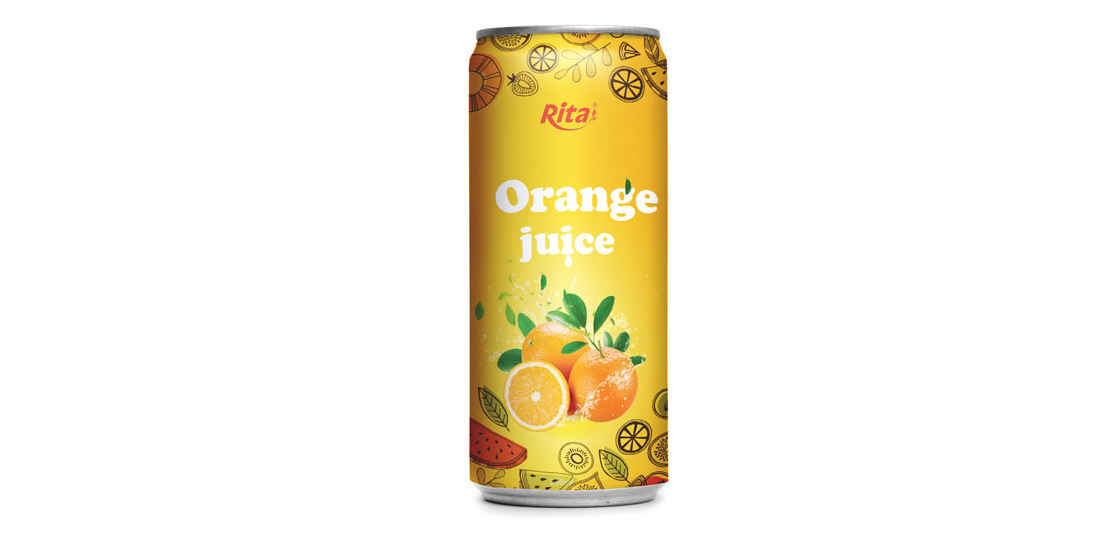 private label  Orange juice drink