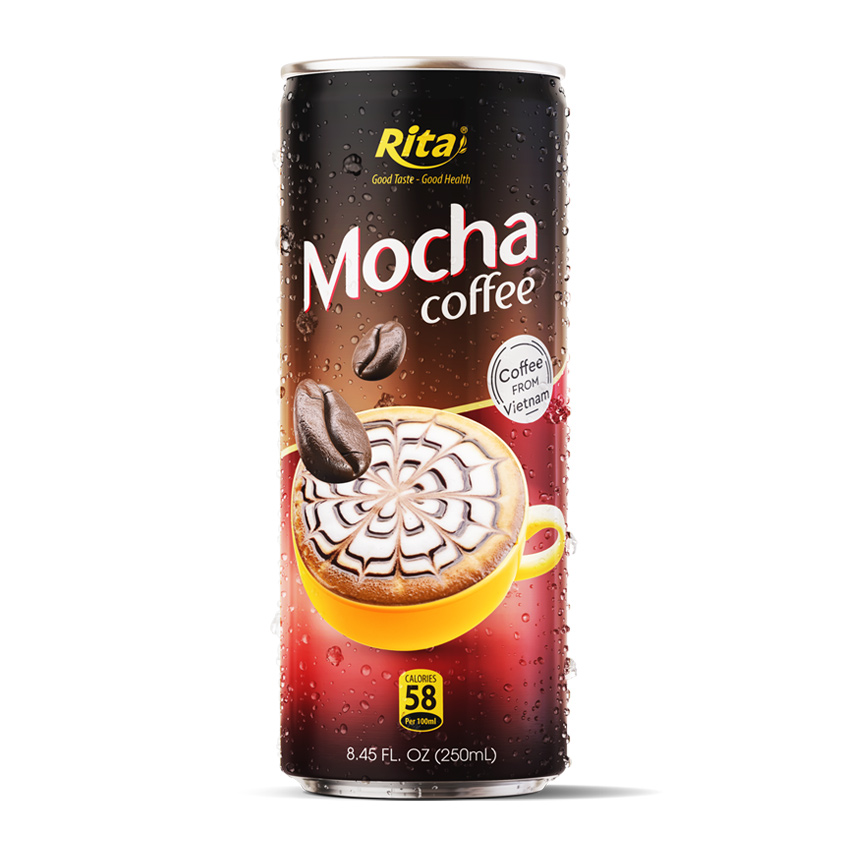 MOCHA COFFEE 250 ML CANNED RITA BRAND