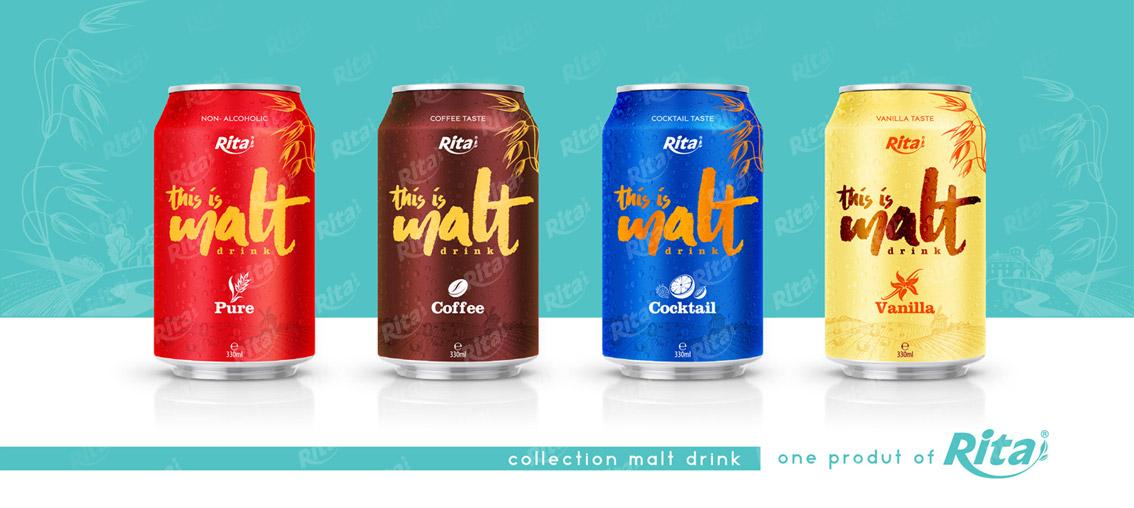 Cocktail flavor malt drink 330ml