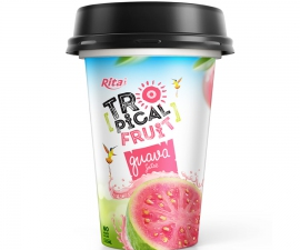 Guava juice drink 330 ml PP Cup