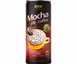 MOCHA COFFEE  250 ML CANNED MANUFACTURER