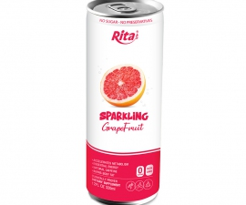 Rita Brand 250ml Canned Sparkling Grapefruit juice drink