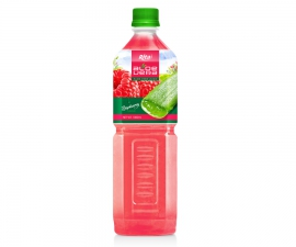 Aloe vera with raspberry flavor 1000ml