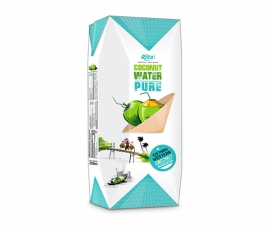 Paper box 200ml Coconut water