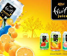 Private label products Peach juice 330ml