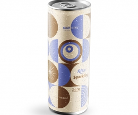 SPARKLING BLUEBERRY JUICE 250 ML CANNED