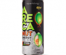 RITA BRAND 250ML SPARKLING ARECA NUT ENERGY DRINK