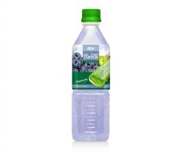 Aloe vera blueberry flavor 500ml Pet Bottle