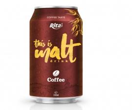 Malt drink coffee flavor 330ml