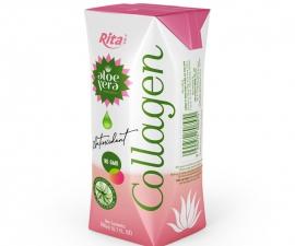 Aloe Vera Collagen 200 ml Aseptic Pak