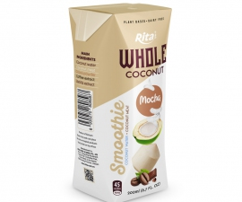 MOCHA COCONUT SMOOTHIE 200 ML PAPER BOX