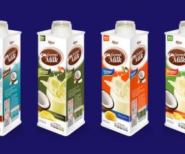 Real fruit juice Coconut milk Original