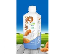 Almond milk Original 1000ml PP bottle