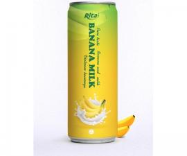Juice packaging design Banana milk drink