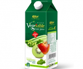 Vegetable juice drink 1000 ml Paper box