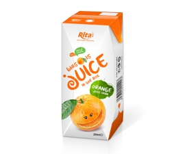 fruit orange juice Aseptic from juice