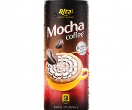 MOCHA COFFEE 250 ML CANNED RITA BRAND