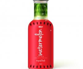 Watermelon Juice in 460 ml glass bottle