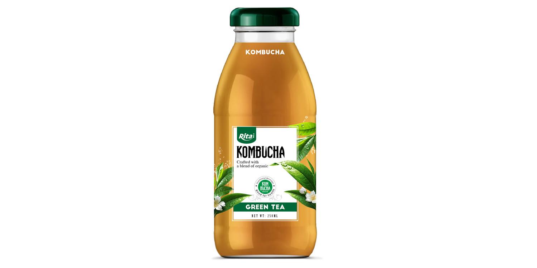 Green tea juice recipes Kombucha 250ml