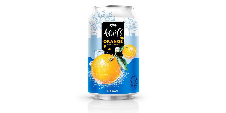 Private label products Orange juice 330ml