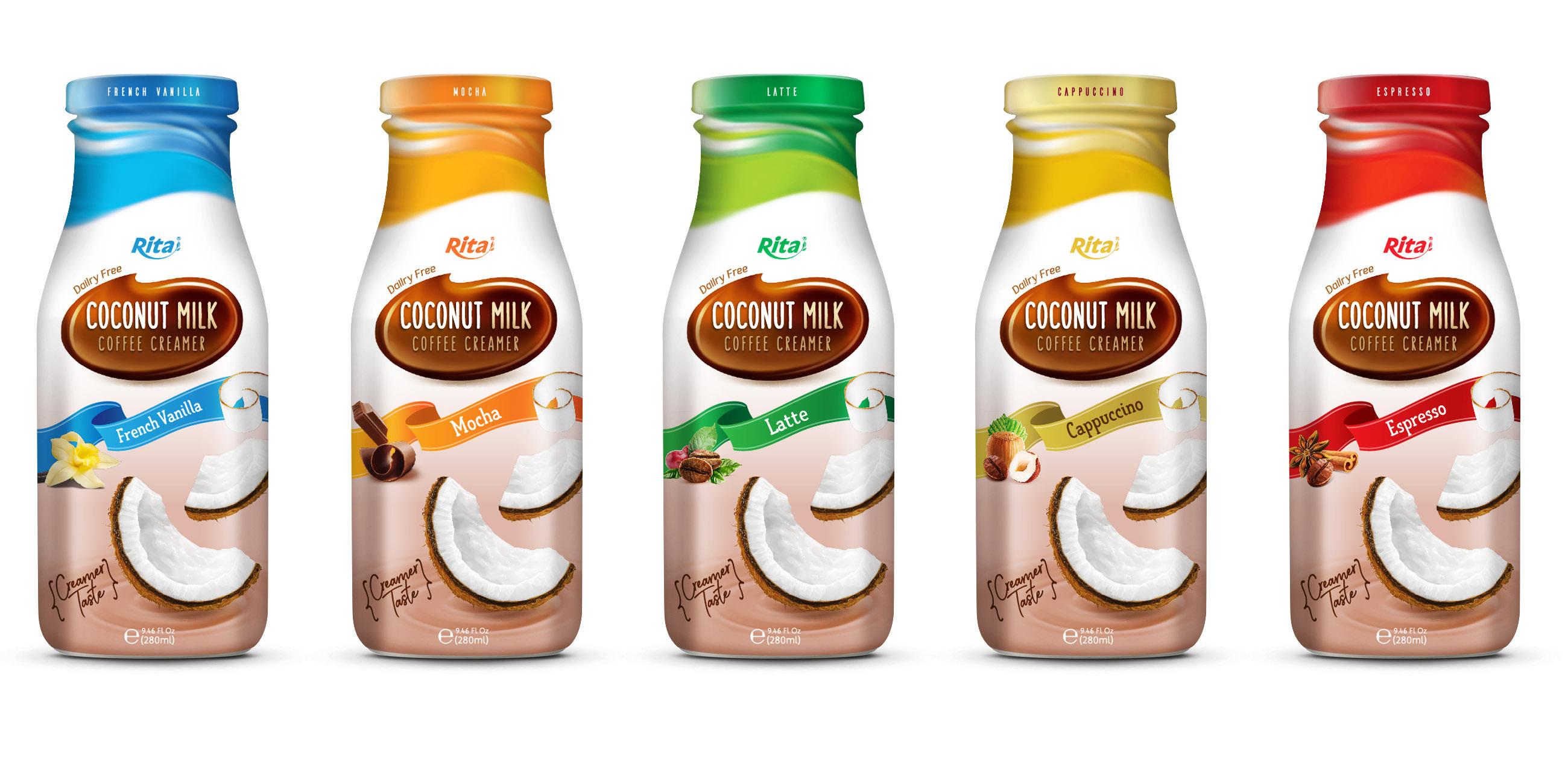 Coconut milk Coffee Creamer 280ml