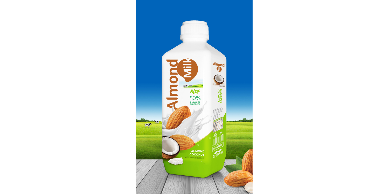 Almond milk with coconut whosale