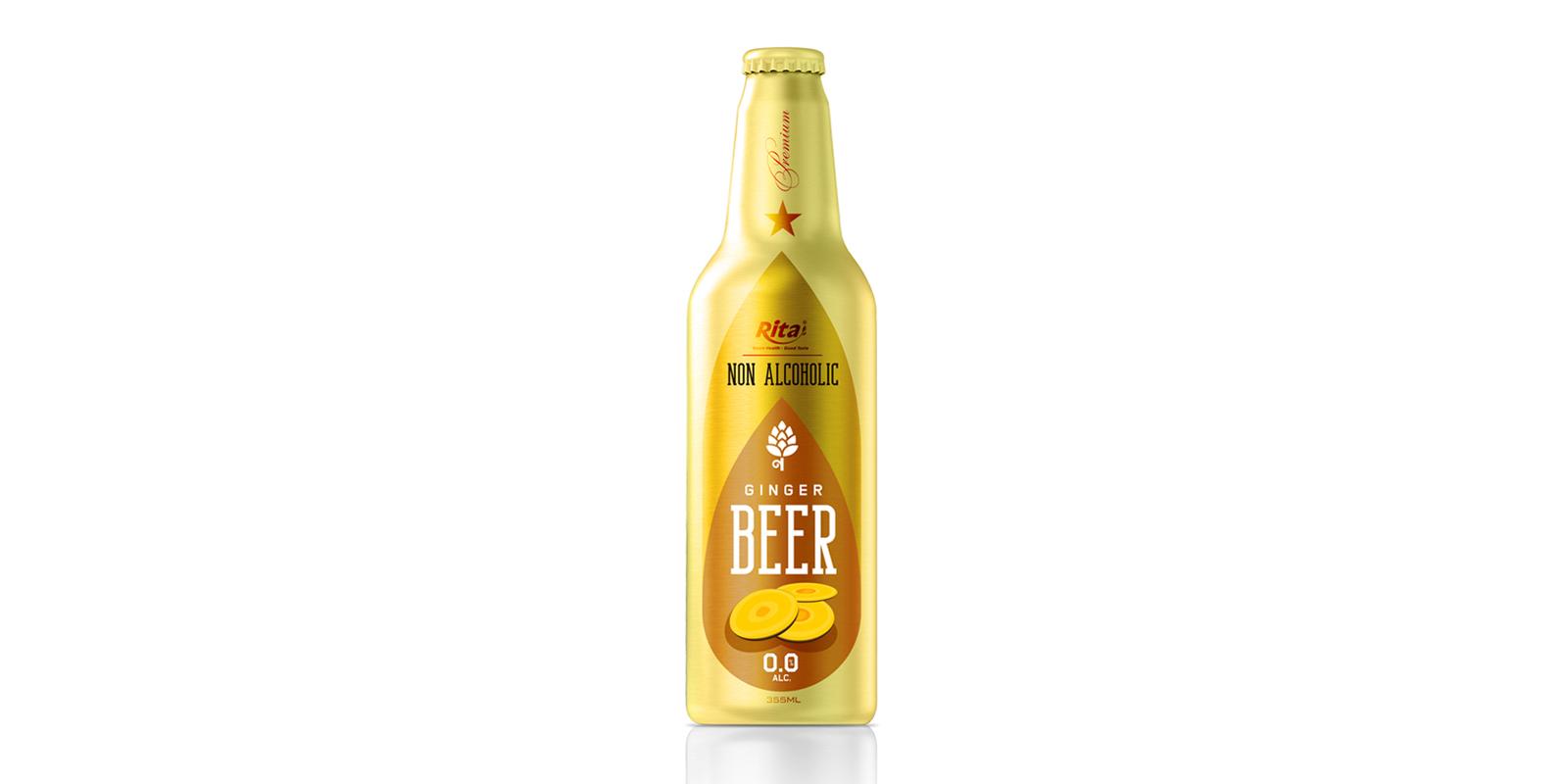 Aluminum Bottle 355ml ginger Beer Non Alc