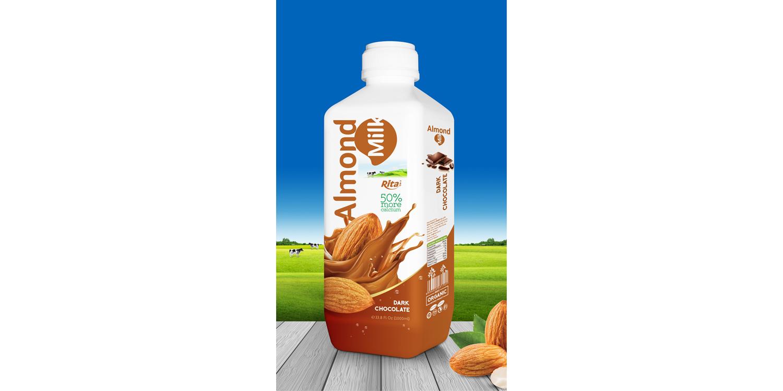 almond milk with chocolate 1000m