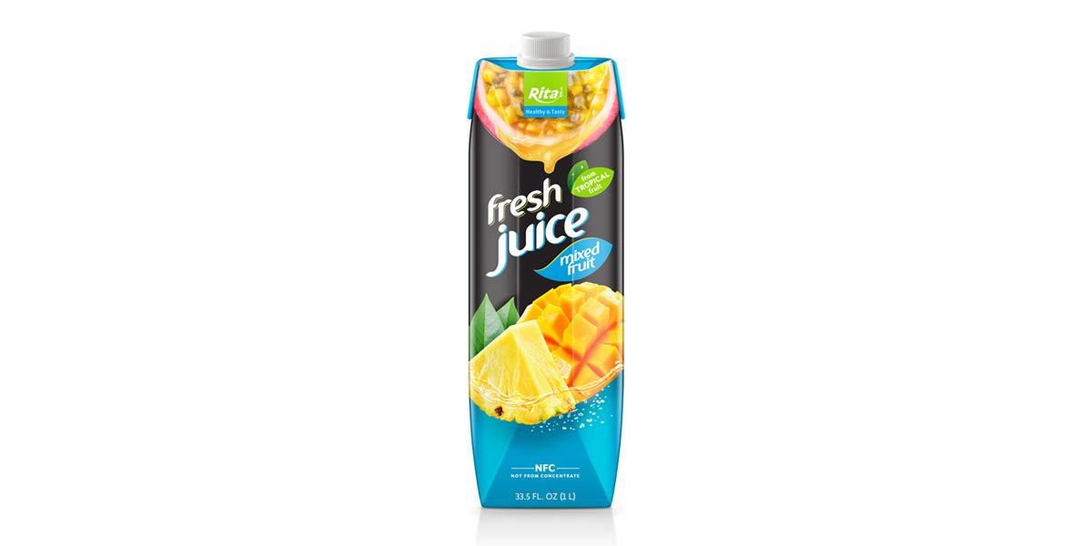 Box 1L mix fruit juice