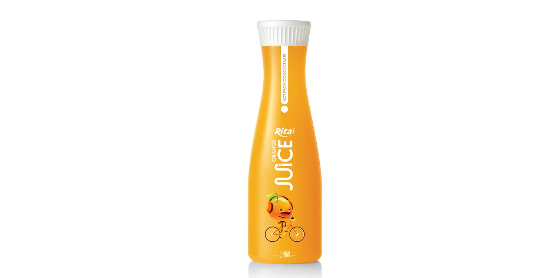 350ml Pet Bottle orange  juice drink