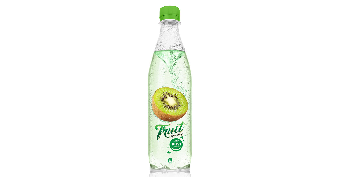 500ml Pet bottle Sparking kiwi juice
