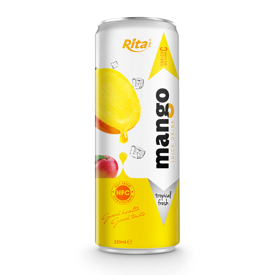 330 ML SLIM CANNED  MANGO JUICE DRINK