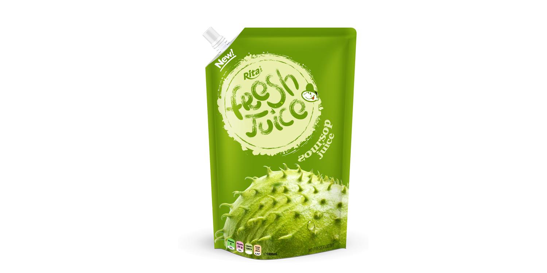 Bag soursop juice 500ml