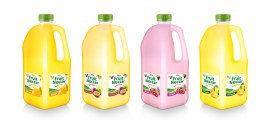Fruit Nectar 2L with grap flavor