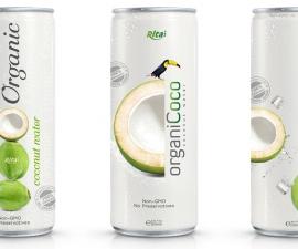 Wholesale Organic Coconut water 250ml