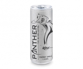 250 ML ALU CAN PANTHER ENERGY DRINK 3