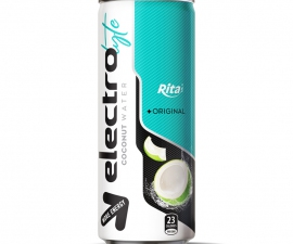 RITA BEVERAGE 250 ML CANNED ELECTROLYTE COCONUT WATER