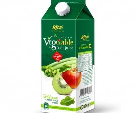 Vegetable juice drink 1000 ml Paper box