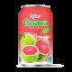 Guava juice drink 330ml short can Rita manufacturer